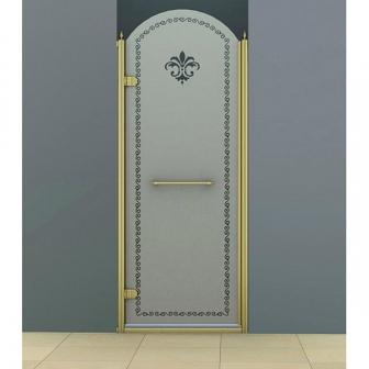 Душевая дверь Cezares Retro RETRO-B-1-90-PP-G-L