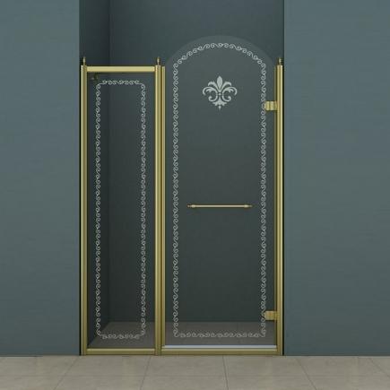Душевая дверь Cezares Retro RETRO-B-11-100-CP-Br-R
