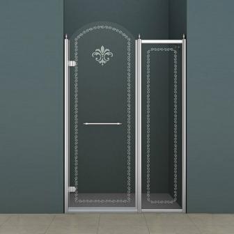 Душевая дверь Cezares Retro RETRO-B-11-100-CP-Cr-L