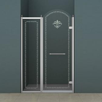 Душевая дверь Cezares Retro RETRO-B-11-100-CP-Cr-R