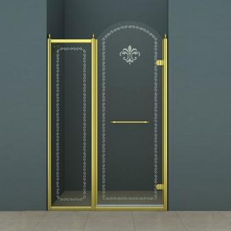 Душевая дверь Cezares Retro RETRO-B-11-100-CP-G-R