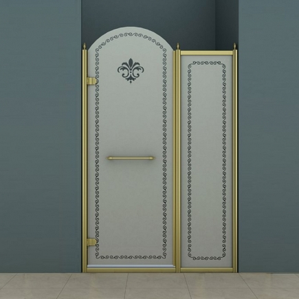 Душевая дверь Cezares Retro RETRO-B-11-100-PP-Br-L