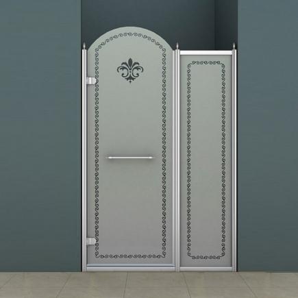 Душевая дверь Cezares Retro RETRO-B-11-100-PP-Cr-L