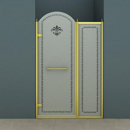 Душевая дверь Cezares Retro RETRO-B-11-100-PP-G-L
