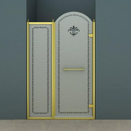 Душевая дверь Cezares Retro RETRO-B-11-100-PP-G-R