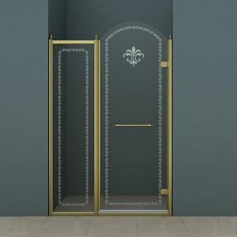 Душевая дверь Cezares Retro RETRO-B-11-120-CP-Br-R
