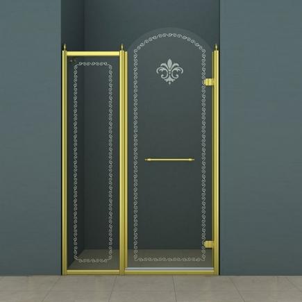 Душевая дверь Cezares Retro RETRO-B-11-120-CP-G-R