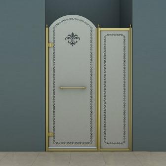 Душевая дверь Cezares Retro RETRO-B-11-120-PP-Br-L