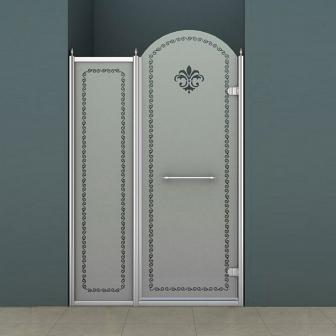 Душевая дверь Cezares Retro RETRO-B-11-120-PP-Cr-R
