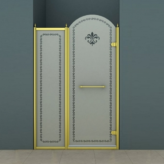 Душевая дверь Cezares Retro RETRO-B-11-120-PP-G-R