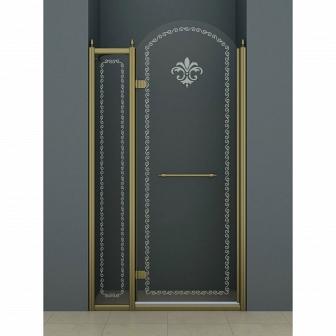 Душевая дверь Cezares Retro RETRO-B-12-120-CP-Br-L