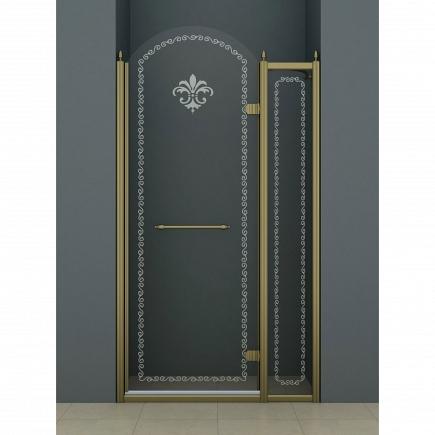 Душевая дверь Cezares Retro RETRO-B-12-120-CP-Br-R