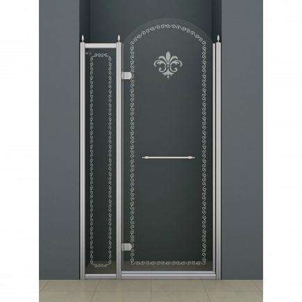 Душевая дверь Cezares Retro RETRO-B-12-120-CP-Cr-L