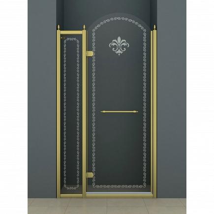 Душевая дверь Cezares Retro RETRO-B-12-120-CP-G-L