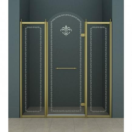 Душевая дверь Cezares Retro RETRO-B-13-130-CP-Br-R