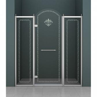 Душевая дверь Cezares Retro RETRO-B-13-130-CP-Cr-L