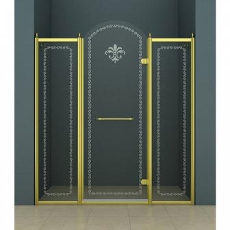 Душевая дверь Cezares Retro RETRO-B-13-130-CP-G-R