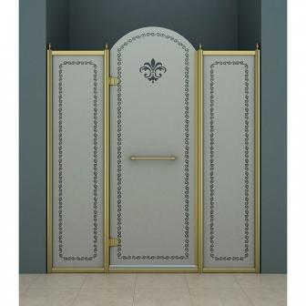Душевая дверь Cezares Retro RETRO-B-13-130-PP-Br-L
