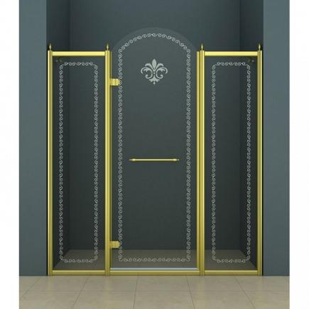 Душевая дверь Cezares Retro RETRO-B-13-150-CP-G-L