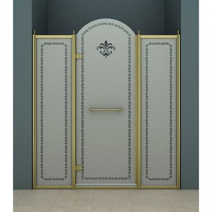 Душевая дверь Cezares Retro RETRO-B-13-150-PP-Br-L