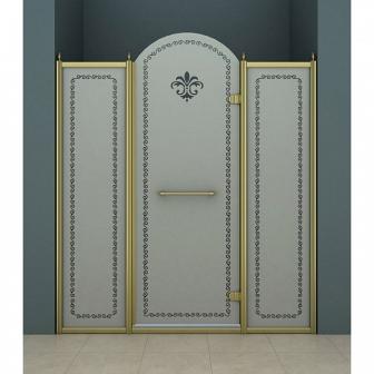 Душевая дверь Cezares Retro RETRO-B-13-150-PP-Br-R