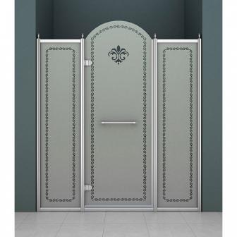 Душевая дверь Cezares Retro RETRO-B-13-150-PP-Cr-L