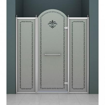 Душевая дверь Cezares Retro RETRO-B-13-150-PP-Cr-R
