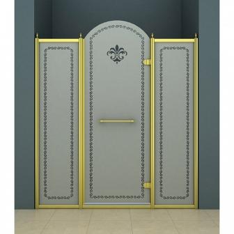 Душевая дверь Cezares Retro RETRO-B-13-150-PP-G-R