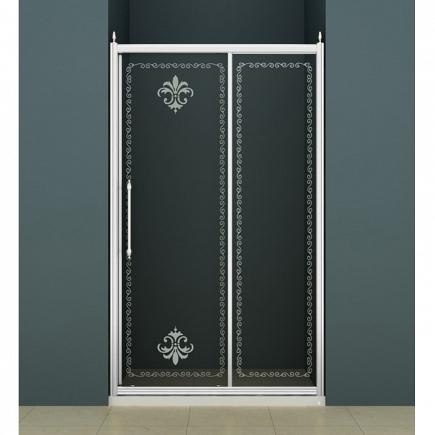 Душевая дверь Cezares Retro RETRO-BF-1-110-CP-Cr