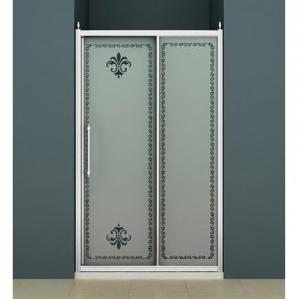 Душевая дверь Cezares Retro RETRO-BF-1-110-PP-Cr