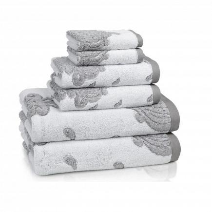 Полотенце для рук Kassatex Roma Tile Grey ROM-110-TG