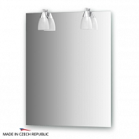 Зеркало со светильниками Ellux Romance 60х75см