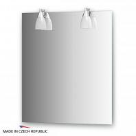 Зеркало со светильниками Ellux Romance 65х75см