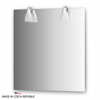 Зеркало со светильниками Ellux Romance 70х75см