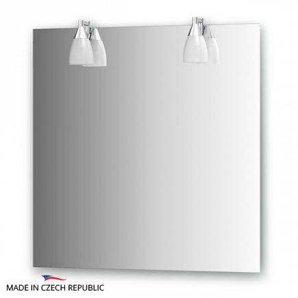Зеркало со светильниками Ellux Romance 75х75см ROM-A2 0210