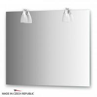 Зеркало со светильниками Ellux Romance 90х75см