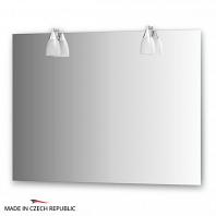 Зеркало со светильниками Ellux Romance 100х75см