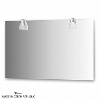 Зеркало со светильниками Ellux Romance 120х75см