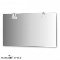 Зеркало со светильниками Ellux Romance 130х75см