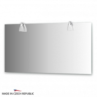 Зеркало со светильниками Ellux Romance 140х75см