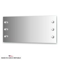 Зеркало со светильниками Ellux Rondo 130х60см