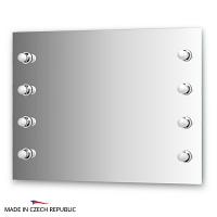 Зеркало со светильниками Ellux Rondo 100х75см