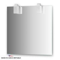 Зеркало со светильниками Ellux Rubico 75х75см