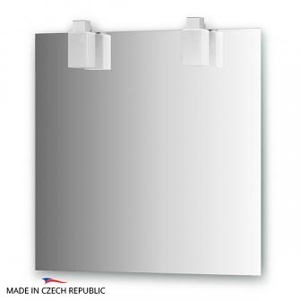 Зеркало со светильниками Ellux Rubico 75х75см RUB-A2 0210