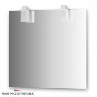 Зеркало со светильниками Ellux Rubico 80х75см