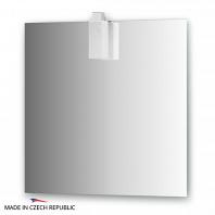 Зеркало со светильником Ellux Rubico 75х75см