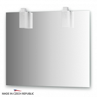 Зеркало со светильниками Ellux Rubico 90х75см