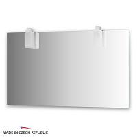 Зеркало со светильниками Ellux Rubico 130х75см