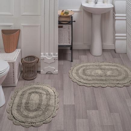 Набор ковриков для ванной кружевной Sofi de Marko Bath Mats Diana S.044беж