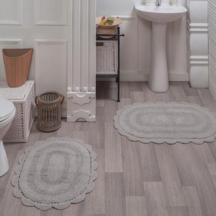 Набор ковриков для ванной кружевной Sofi de Marko Bath Mats Diana S.044кофе